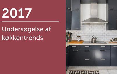 Undersøgelse af køkkentrends 2017