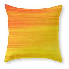 "Summer Sonnet Throw Pillow, Indoor Cover, 18""x18"" With Pillow Insert"