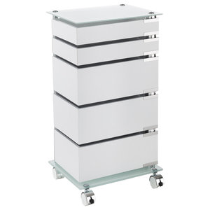 Bobo Mobile Storage Cabinet, 5 Drawers