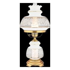 Quoizel Satin Lace Table Lamp SL703G - Florentine Silver