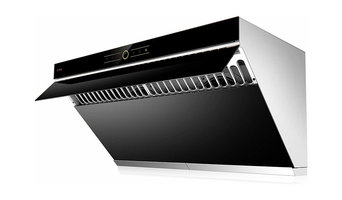 FOTILE Stainless Steel Range Hood Wall Mount With LED Light, Onyx Black, 36""