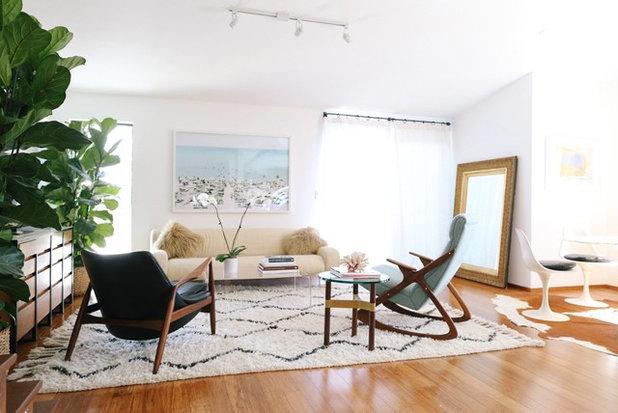 Midcentury  by Sarah Rosenhaus Interior Design
