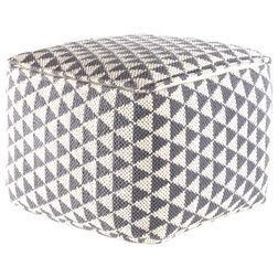 Scandinavian Floor Pillows And Poufs by Madeleine Home Inc.