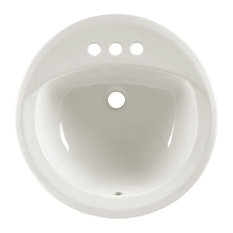 "American Standard 491.019 Rondalyn 19-1/8"" Drop In Porcelain Bathroom Sink White"