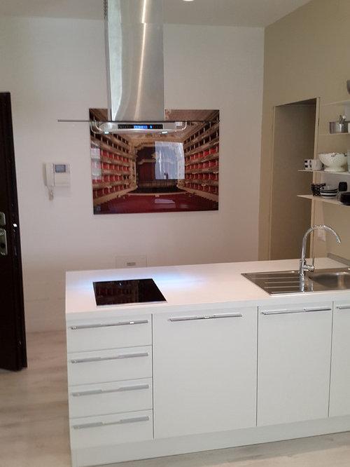 Cucine moderne e su misura, isola, realizzazioni, Torino, Milano, Roma