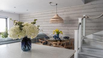 Coastal Sitting & Dining Area