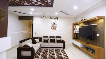 Elegant 3BHK Interiors at Prestige Bella Vista
