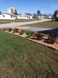 I Solved The Same Problem By Having A Landscaper Put In Border Garden