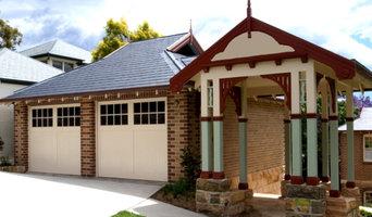 Barn / Bungalow Federation Style, Tilt Garage Door