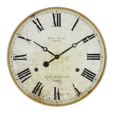 Aspire Home Accents, Inc. - Leniel Large Wall Clock - Wall Clocks