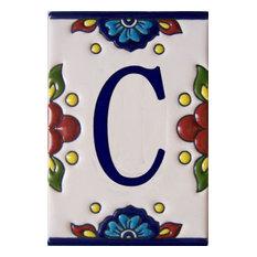 Mission Tile Letter C