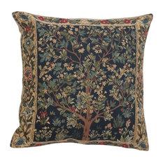 Charlotte Home Furnishings - Tree Of Life III European Cushion Covers - Decorative Pillows