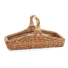 French Country Rattan Wildflower Basket