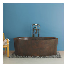 "Native Trails CPS80 Aspen 64"" Free Standing Soaking Bathtub"