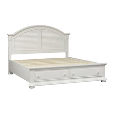 Liberty Furniture Industries, Inc. - Liberty Furniture Summer House I King Storage Bed - Panel Beds