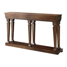 Acme Furniture   Acme Garrison Console Table, Oak, 97252   Console Tables