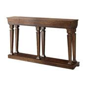 """ACME Garrison 60"""" Console Table in Oak"""