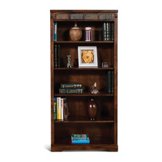 Santa Fe Bookcase, Dark Chocolate