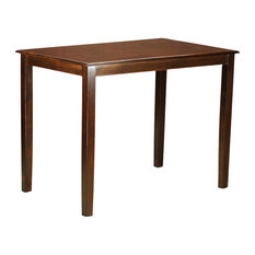 East West Furniture   Yarmouth Counter Height Dining Table, Mahogany   Dining  Tables