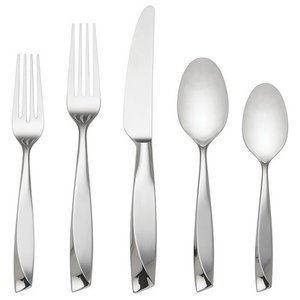 Reed /& Barton Longwood II 65-Piece Stainless Flatware Set Service for 12