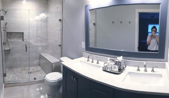 After | Bathroom - Modern Grays and Tans