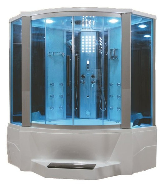 Steam Shower With Whirlpool Bathtub - Contemporary - Steam Showers ...