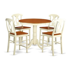 5-Piece Counter Height Pub Set Table And 4 Counter Height Stool