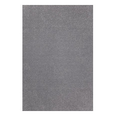 Color World Collection Way Solid Color Area Rug, Gray, 2'x10'