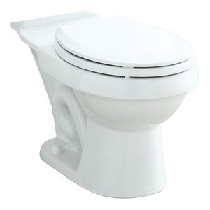 Toilet Parts White Sheffield Round Bowl Only Rear Entry