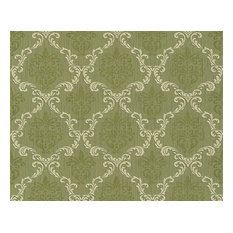 Non-Woven Damask Wallpaper For Accent Wall - 956294 Tessuto Wallpaper, Roll