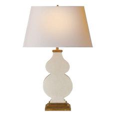 Alexa Hampton Anita 1 Light Table Lamp in Tea Stain Porcelain