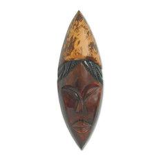 Head of the House Akan Wood Mask