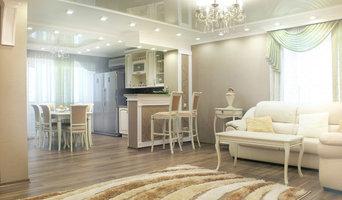 """Натяжные потолки в квартире """"классического стиля"""""""