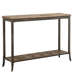 Industrial Console Tables by Inspire at Home