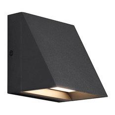 Tech Pitch Single LED 80CRI 3000K 277V Wall Sconce, Black
