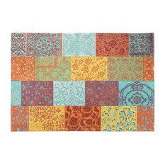 Trellis Area Rug, Multicolored, 160x240 cm