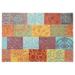 Trellis Area Rug, Multicolored, 160x240 cm