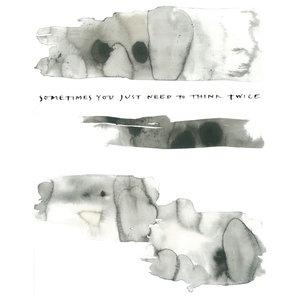 """Think Twice"" Paper Print by Ylva Skarp, 40x50 cm"