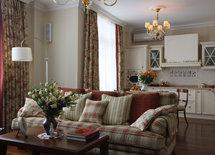 Очень приятный диван, какая фирма и что за ткань выбрана для обивки?