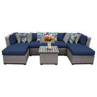 Florence 7 Piece Outdoor Wicker Furniture Set 07A