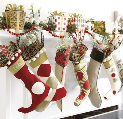 guest picks christmas stockings for stuffing pink amp polka dot ballard designs inspired christmas