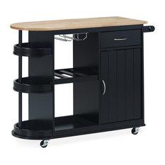 Chloe Kitchen Cart With Wheels