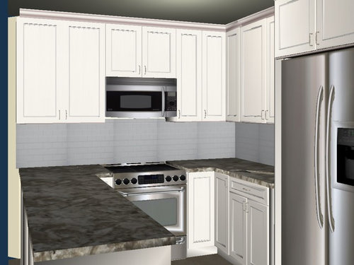 Corner Kitchen Cabinets Angled Or Not
