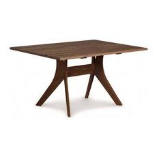 "Audrey Fixed Top Tables, Walnut, 40""x72""x30"""