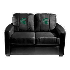 Michigan State Spartans Collegiate Silver Love Seat