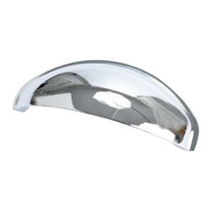 Advantage Plus 3 2-1/2 Inch Center to Center Polished Chrome Cabinet Cup Pull