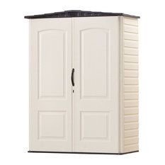 Outdoor 4.5-Ft X 2-Ft Study Double Walled Storage Shed