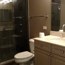 BATHROOM RENO (Before and After Pics)!