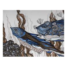 Fish Art, Original Drawing
