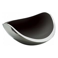 Bugatti Ninnananna Centrepiece and Fruit Bowl, Black